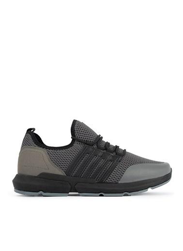 Slazenger Slazenger Teppe Sneaker Erkek Ayakkabı  Gri